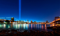 9-11 memorial - tribute in light