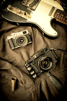 Fuji X-series camera & Fender Telecaster