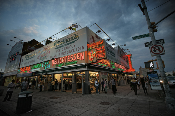 Nathan's, Coney Island