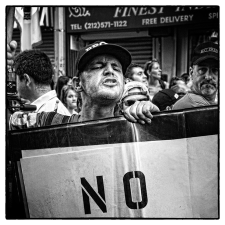 Anti Mosque protest, New York, 2010