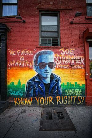 Joe Strummer Mural, East Village