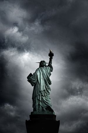 Lady Liberty´s back